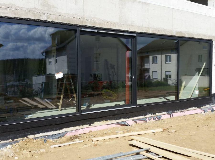 Fenster-Wand System Finstral VISTA in Aluminium