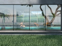 Finstral Fensterwand Nova Variante